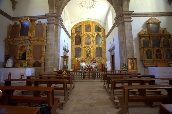 Mission San Javier: The main altar is a key attraction