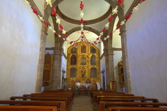 Mission San Javier: San Javier around Christmas