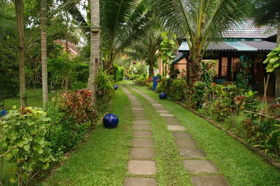 Cassia Cottage: Road to the beach