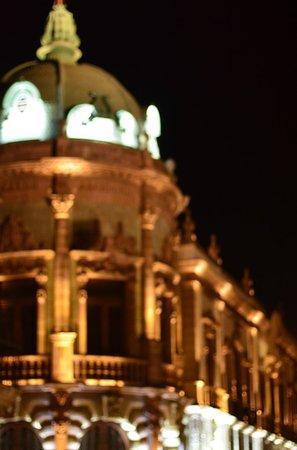 Teatro Macedonio de Alcalá: Theater by night