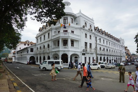 Queens Hotel Kandy: Le Queen's à Kandy