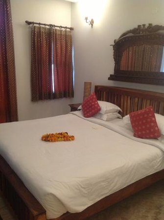 Shanti Home: our room