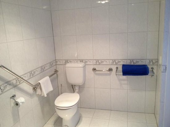Island Eden: disabled toilet facility