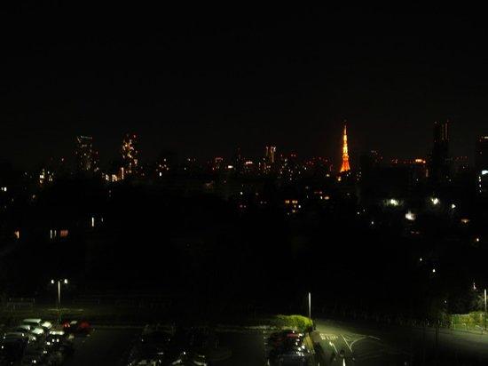 Grand Prince Hotel Takanawa: 夜の東京タワー