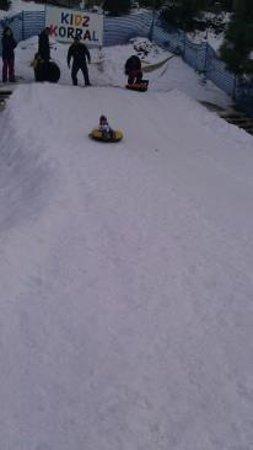 Ruidoso Winter Park: Chute/slide area for small children