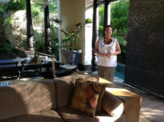 Sergeant House: Welcoming guests to the resort - Andree