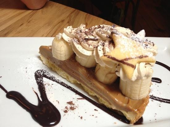 Lone Star Cafe & Bar - Queenstown : delish Banoffie pie!
