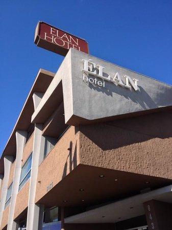 Elan Hotel: Fachada