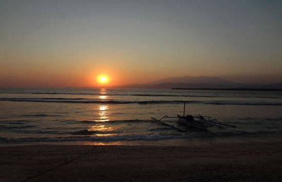 Gili Trawangan: sunset