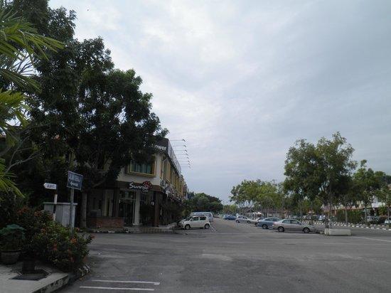 Sunflower Hotel Malacca: ホテル周辺