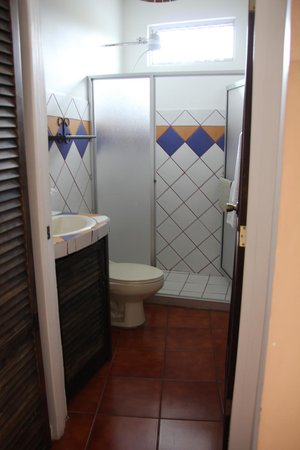 Regina Hotel: Bathroom and shower