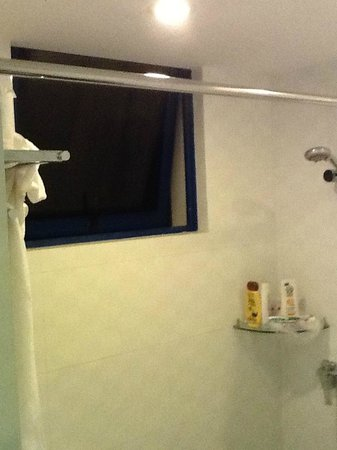 Harbour Ville Hotel: Shower & toilet