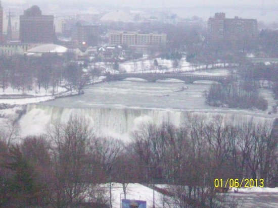 DoubleTree Fallsview Resort & Spa by Hilton - Niagara Falls: View from 17th Floor