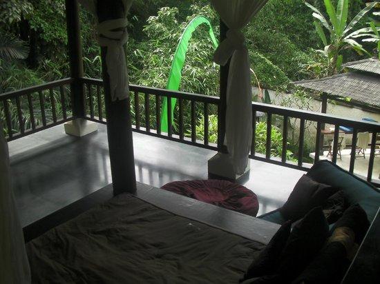 Villa di Abing: day bed