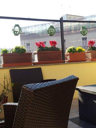 La Fenice: Terrasse ensoleillée