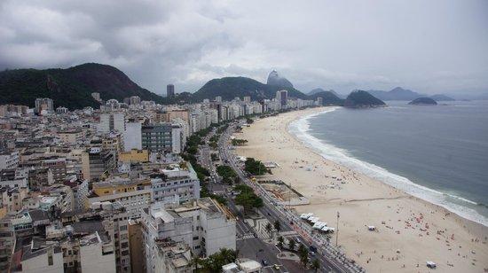 Rio Othon Palace Hotel: Aussicht aus dem Zimmer 2802 am Tag