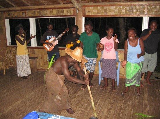 Tetepare Island Eco-lodge: Christmas show