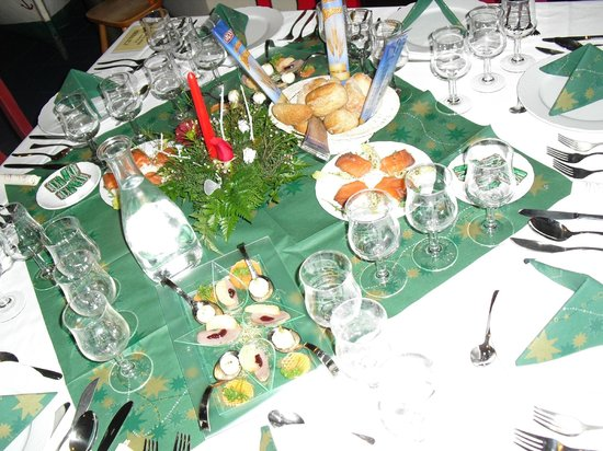 Park Club Europe Hotel: Silvester - Tisch
