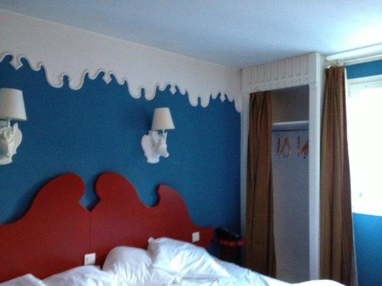 Club Med Chamonix Mont-Blanc: le lit