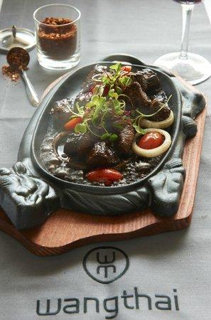 Wangthai Restaurant: Wok Beef a firm favourite