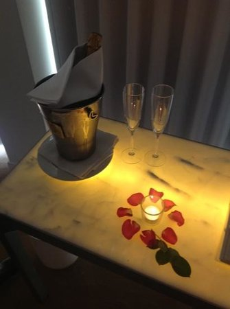 St Martins Lane London Hotel: Another lovely extra from the hotel!