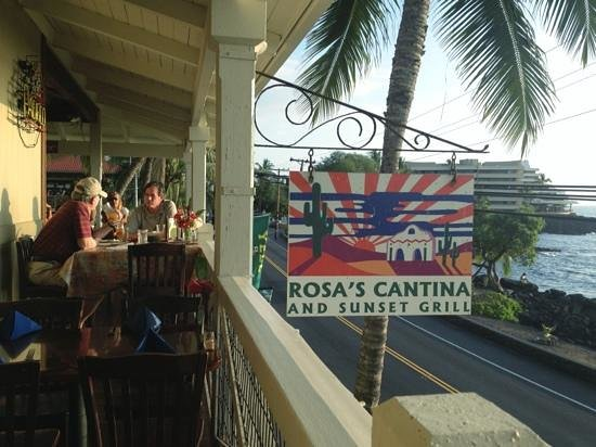 Rosa's Cantina & Sunset Grill: Watching the Sunset