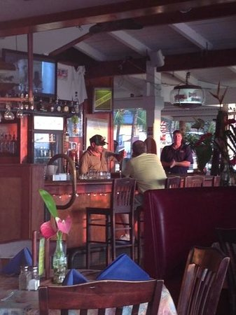 Rosa's Cantina & Sunset Grill: Interior Eating Area and Bar