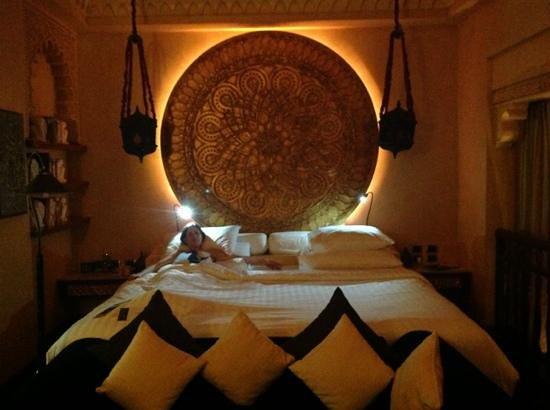 The Baray Villa: un lit immense et super confortable