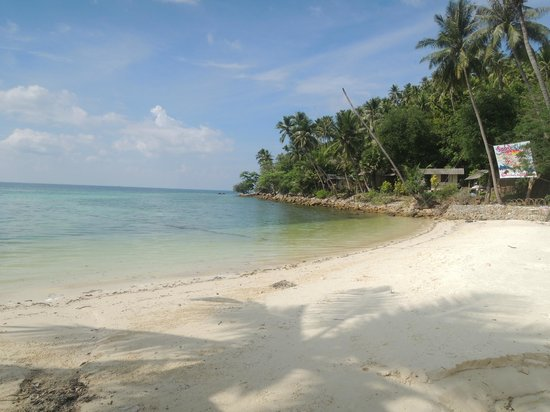 My Way Bungalows: beach