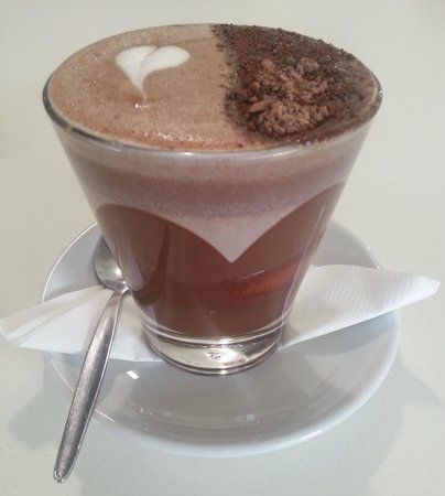 Gabriel Chocolate: THE best hot chocolate