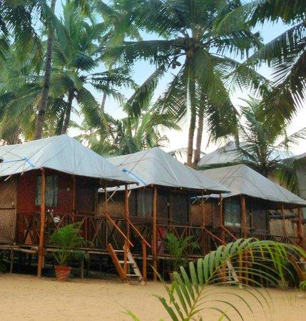 Big Fish La Raja: cold water huts Big Fish