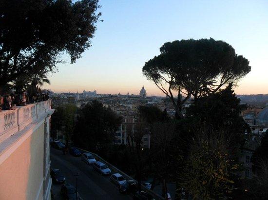 Panorama dalla terrazza del Pincio - Foto di Monte Pincio, Roma ...