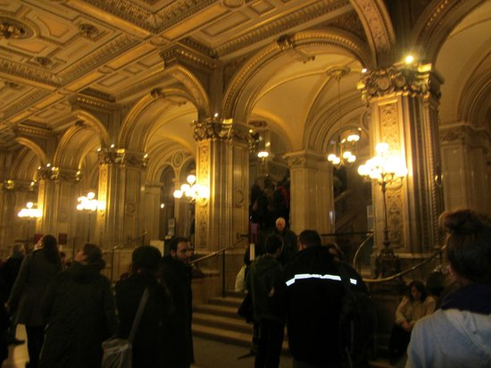 Opera of Vienna Guided Tour: Entrance