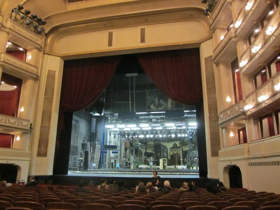 Opera of Vienna Guided Tour: View from the audience