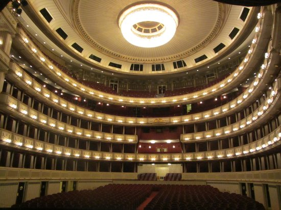 Opera of Vienna Guided Tour: View from the stage