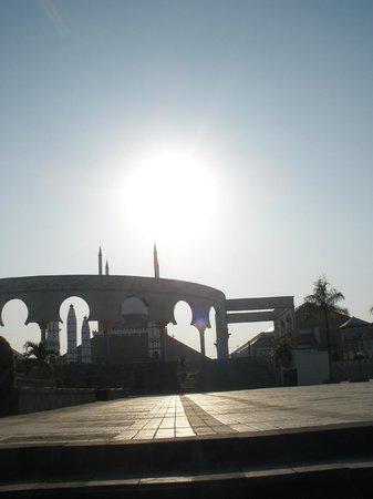 Semarang, Indonesia: Masjid Agung jelang senja