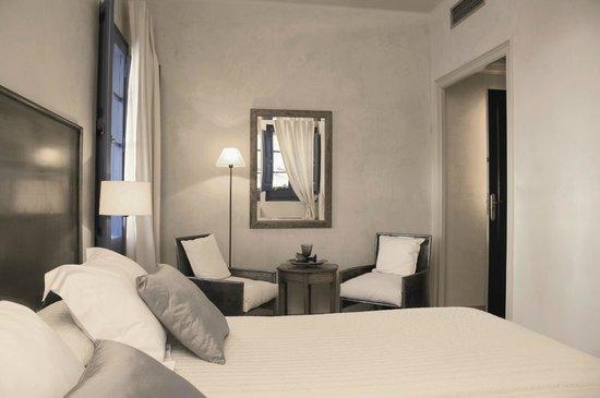 Hostal de la Plaça: Habitación Doble 2 camas