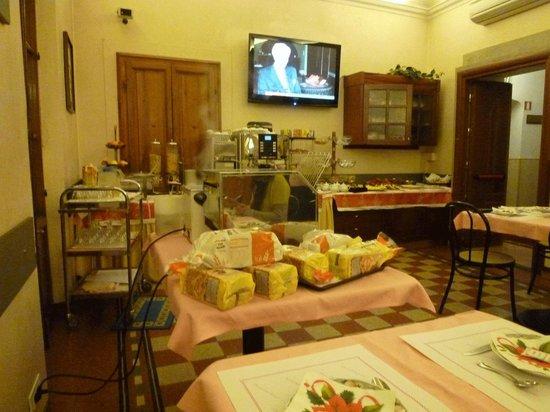 Hotel Casci: 朝食