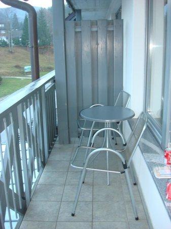 Jezero Hotel: balcony