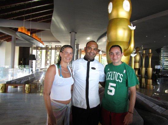 Paradisus Punta Cana: Con el amigo Marcelo...