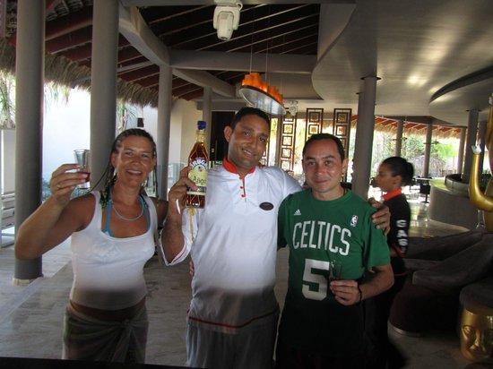 Paradisus Punta Cana: Con el amigo Rodolfo...