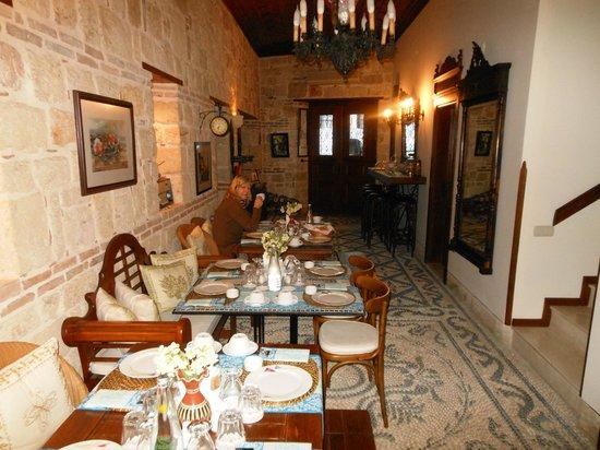 Minyon Boutique Hotel: Frühstücksbereich
