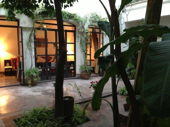 Riad Dar Aman: Le patio du Riad