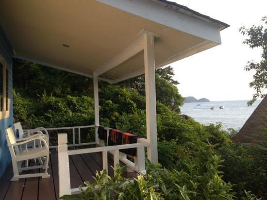 Koh Tao Hillside: garden bungalow