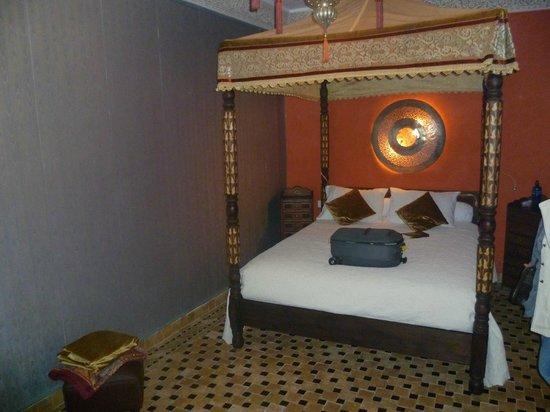 Riad Aguaviva: Habitación