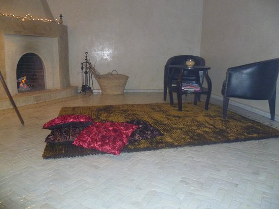 Riad Aguaviva: Zona de descanso