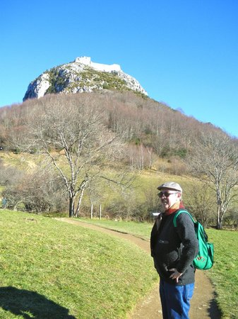 Chateau de Montsegur: Iniciando la ascensión.