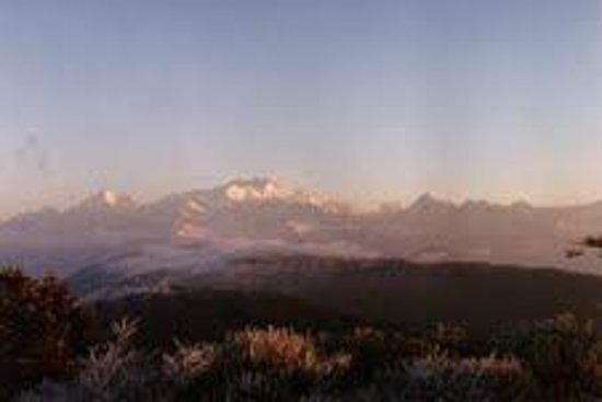 Sandakphu: Kanchenjunga as seen in the morning