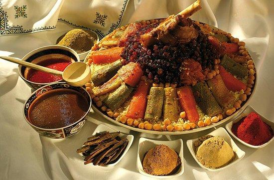Riad Les Nuits de Marrakech: repas