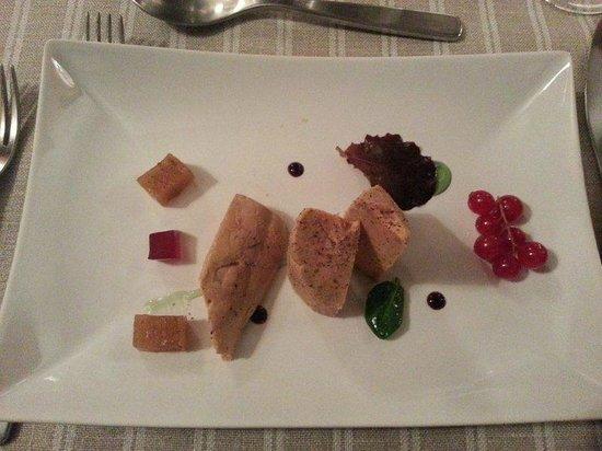 Foie gras au torchon picture of maison alliey le - Foie gras au torchon maison ...
